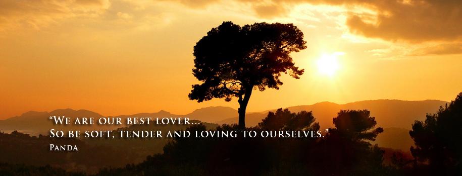 Slider image 2 – tree with sunset